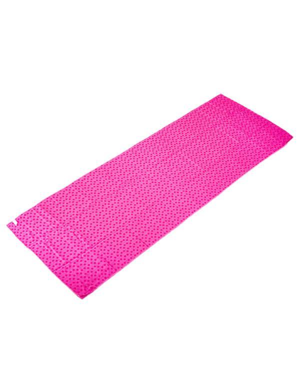 Khăn tập yoga màu hồng