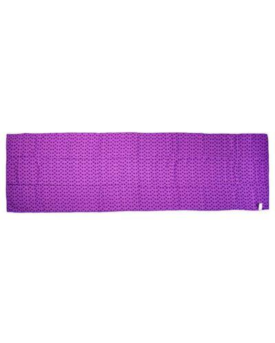 Khăn tập yoga màu tím
