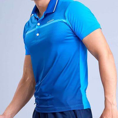 Áo ngắn tay thể thao nam có cổ HY23
