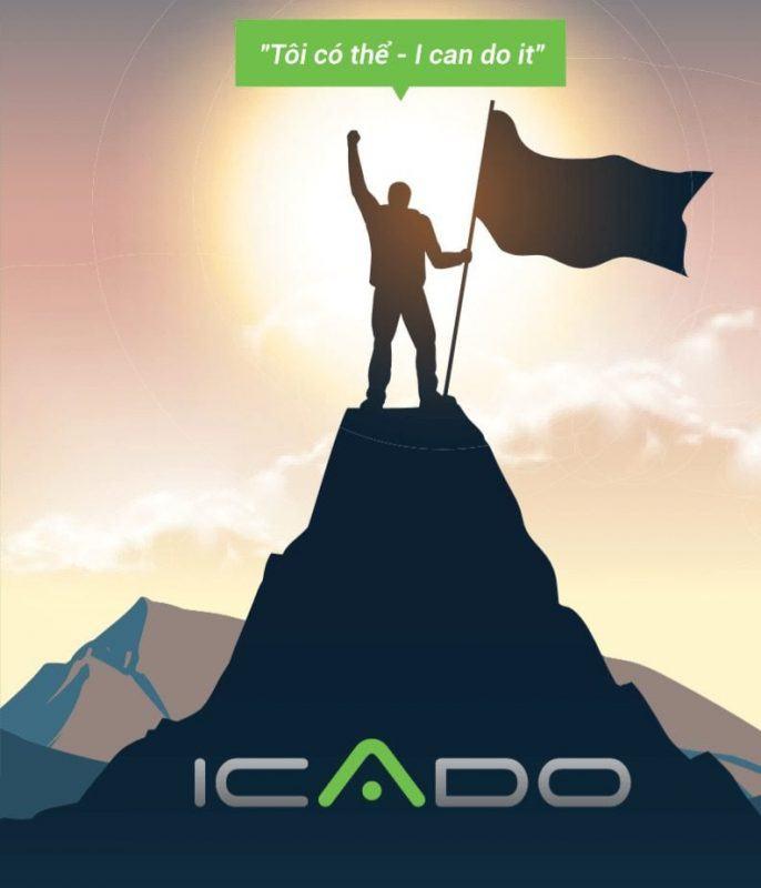 Với những sản phẩm thời trang thể thao cơ bản chuyên biệt dành cho bộ môn gym và yoga, ICADO tập trung vào những yếu tố chức năng, tính tiện dụng, thoải mái, với thiết kế hiện đại và cao cấp