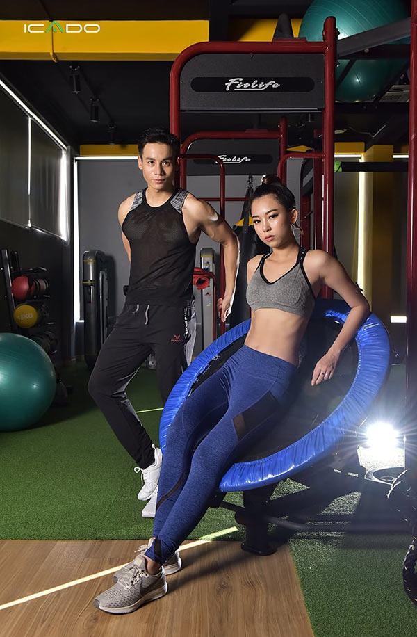 icado là thương hiệu có quần áo tập gym chất lượng, thích hợp với mọi môi trường tập luyện