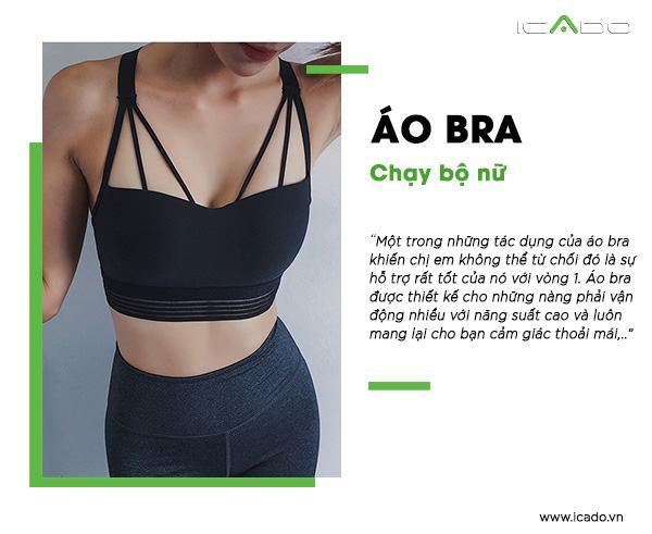 Áo bra chạy bộ nữ