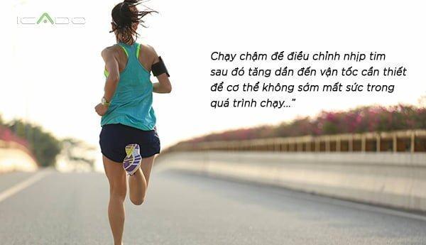 Một trong những cách chạy bộ không mệt sẽ giúp bạn chạy bền bỉ hơn