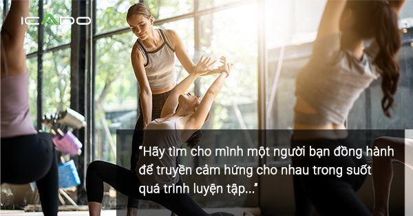 Để có được một người bạn đồng hành. Bạn hãy tham khảo các group yoga trên mạng xã hội nhé!