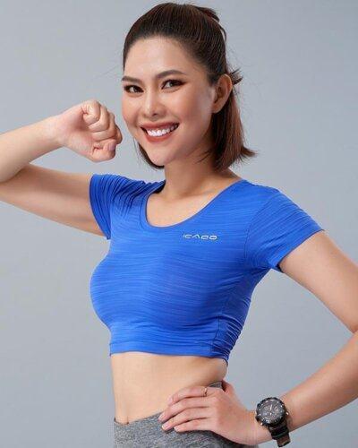Áo croptop tập yoga nữ MM17