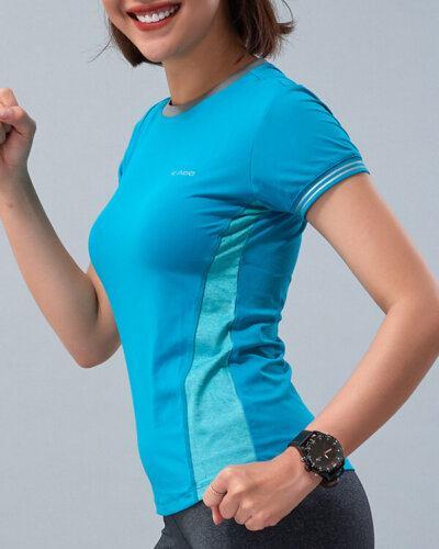 Áo ngắn tay tập gym nữ HY14
