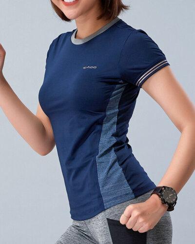 Áo ngắn tay tập yoga nữ HY14