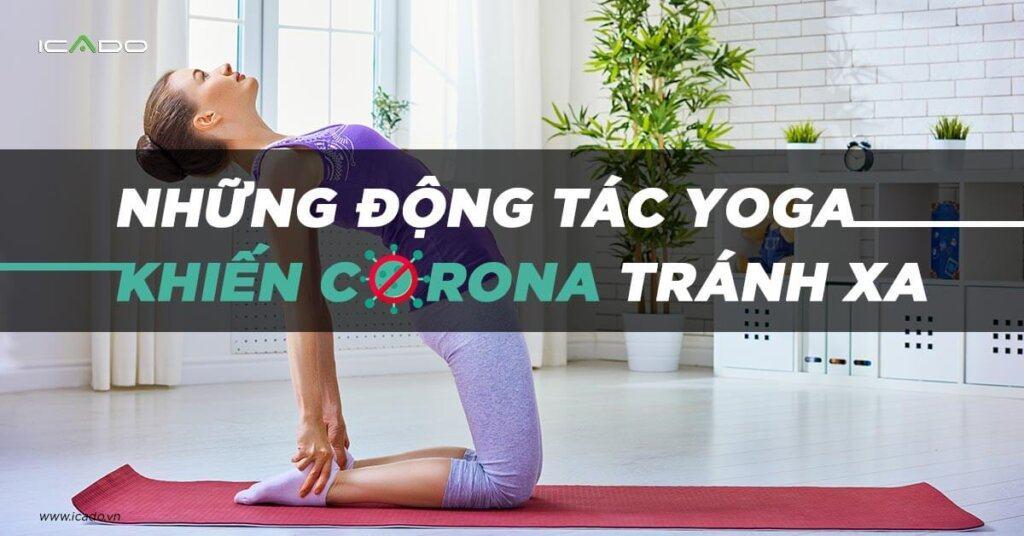 Những động tác yoga tốt cho hệ hô hấp