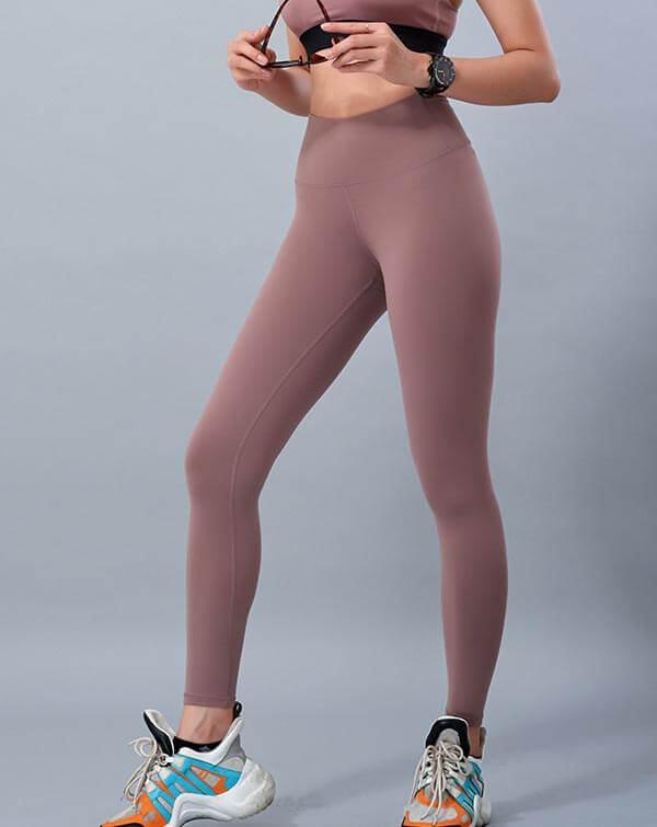 Quần dài tập yoga nữ cạp cao QD23