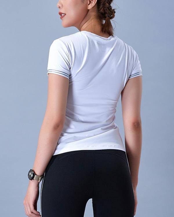 Áo ngắn tay thể thao nữ at3