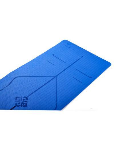 Thảm tập yoga pavo định tuyến tyg013 màu xanh