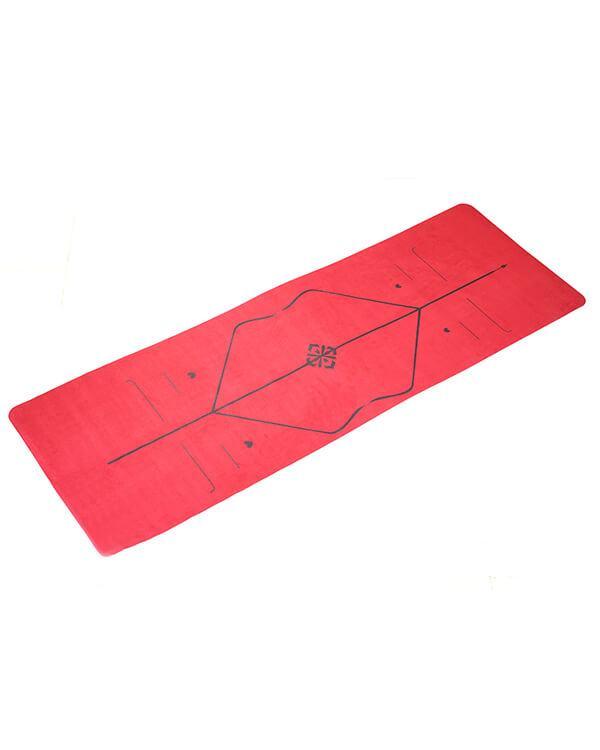 Thảm tập yoga PAVO định tuyến du lịch TYG012 màu đỏ