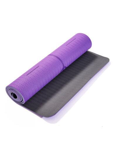 Thảm tập yoga pavo định tuyến tyg013 màu tím