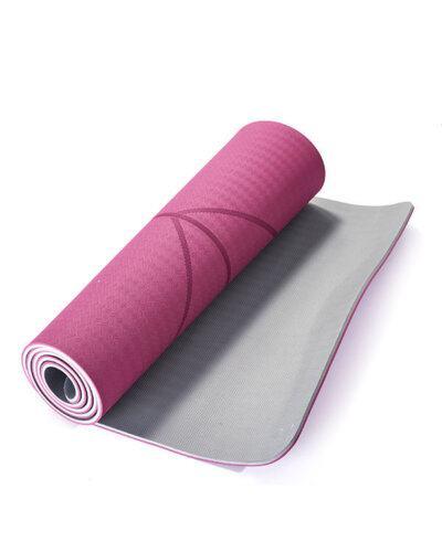 Thảm tập yoga pavo định tuyến tyg013 màu đỏ đô