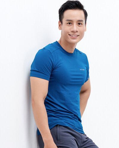 Áo ngắn tay tập gym nam AT1