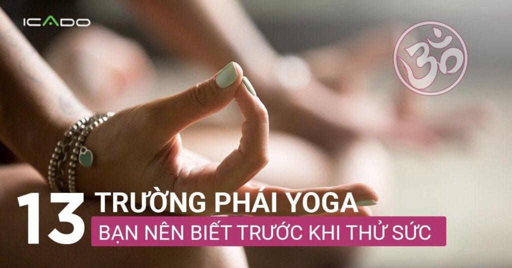 13 trường phái yoga bạn nên biết trước khi thử sức với yoga