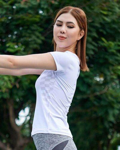 Áo ngắn tay thể thao nữ AT2