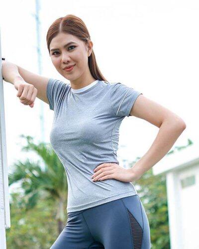 Áo ngắn tay thể thao nữ HY17