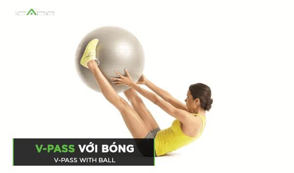 Bài tập V-pass với bóng