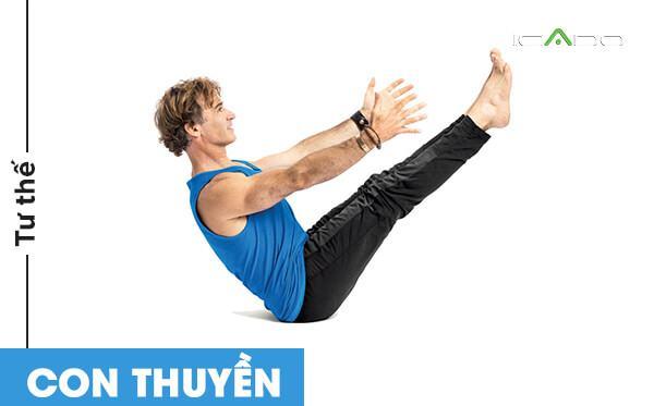 Tư thế này không chỉ giúp bạn tăng cường sức mạnh cơ bắp mà còn thúc đẩy tuyến giáp và tuyến tiền liệt khoẻ mạnh.