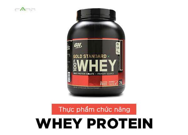 Một khẩu phần whey protein thường chứa 20 - 30 g chất đạm. Khẩu phần này tương đương với một lạng ức gà.