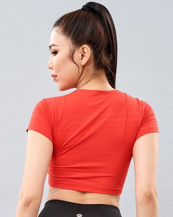 Áo croptop tập gym nữ AT3