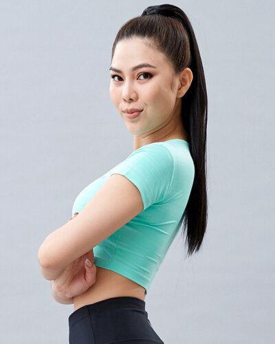 Áo croptop tập yoga nữ AT3