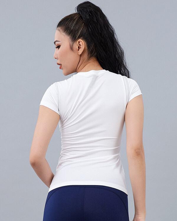 Áo ngắn tay tập gym nữ AT7
