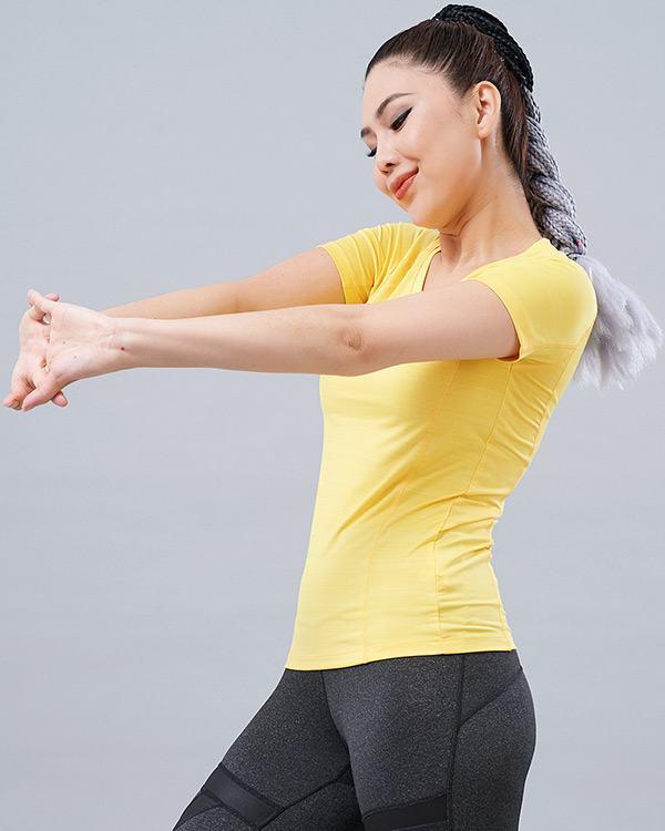 Áo thun tập gym nữ AT5