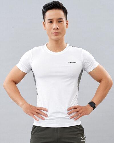 áo thun tập yoga ACT nam PAVO AT3