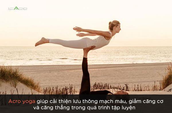 Lợi ích của Acro yoga