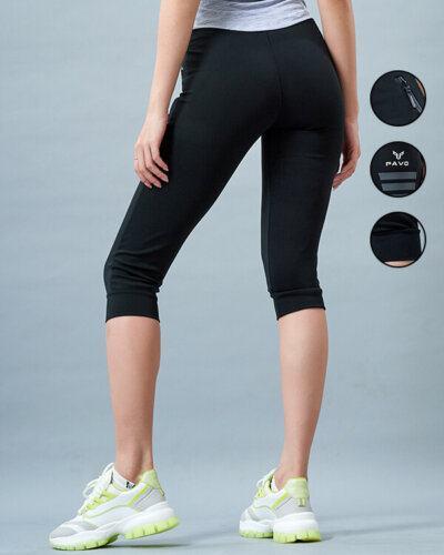 Quần jogger lửng tập gym nữ icado PAVO SG2