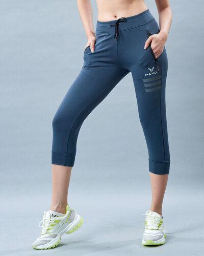 Quần jogger lửng tập yoga nữ icado PAVO SG2
