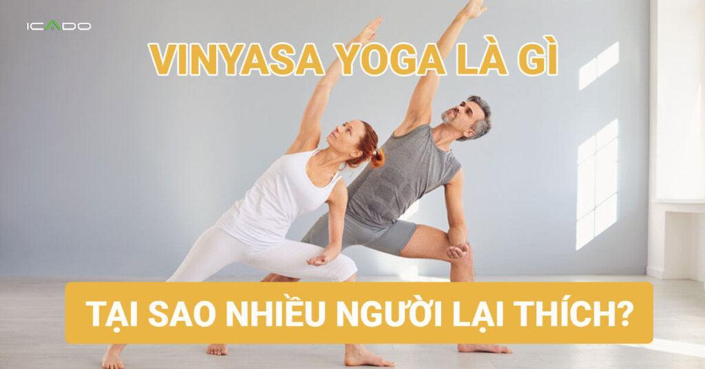 Tìm hiểu về trường phái Vinyasa yoga, tại sao nhiều người lại thích nó?