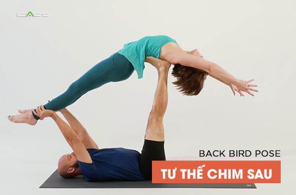 Tư thế yoga Back Bird