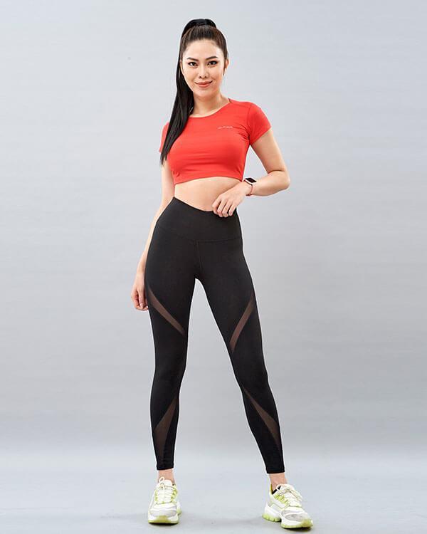 Set yoga nữ 8 áo croptop quần legging