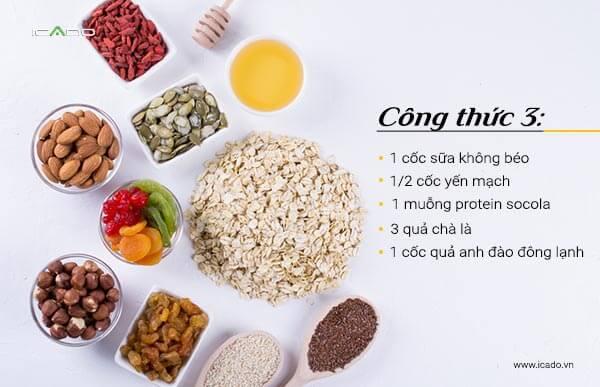 Lượng đường sẵn có cao trong món sinh tố này làm cho nó trở thành một ứng cử viên sáng giá cho bữa ăn sau khi tập luyện