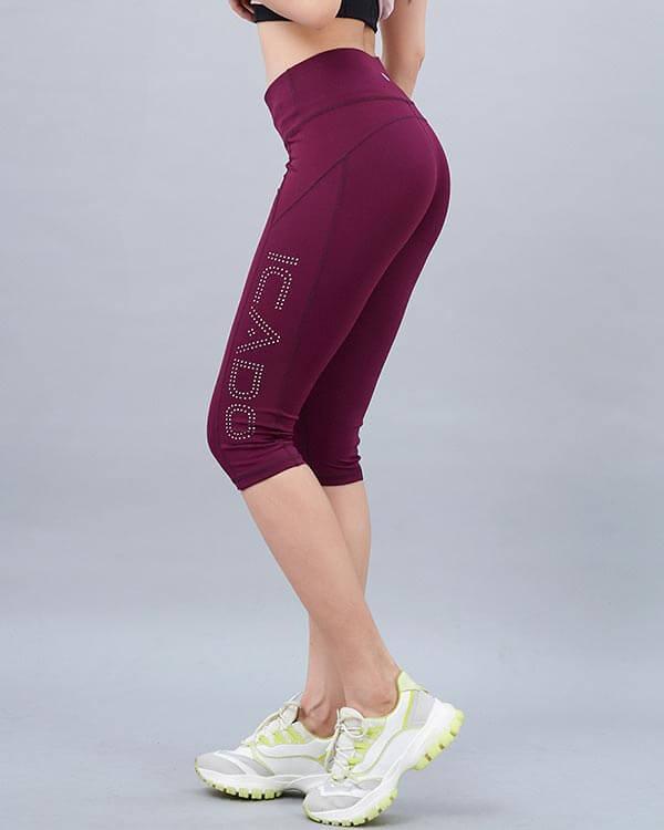 Quần jogger lửng tập gym nữ QL24