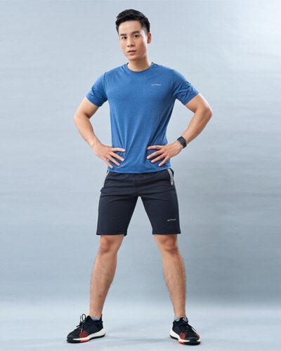 set thể thao nam 1 áo thun quần đùi