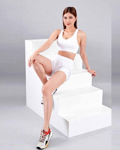 set yoga nữ 7 áo bra quần đùi