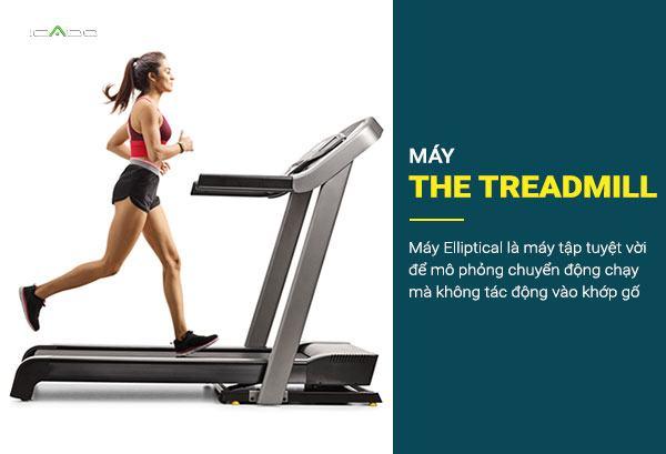Máy chạy bộ là một cách tuyệt vời để luyện tập đi bộ