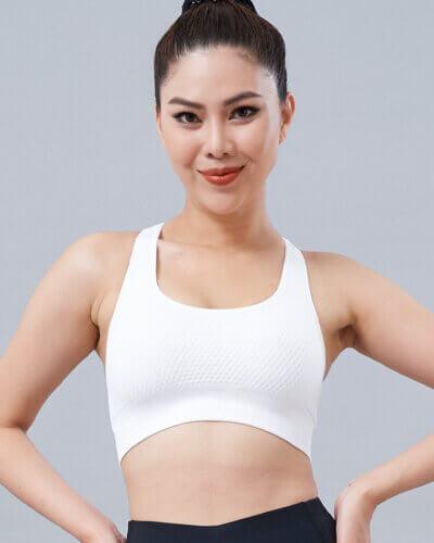 Áo bra tập gym nữ dệt ICADO CH11