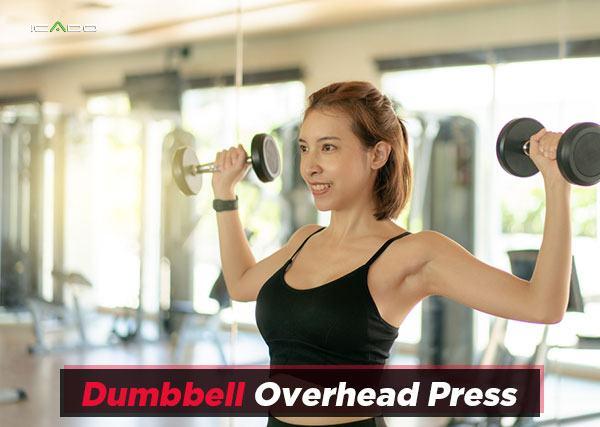 The Dumbbell Overhead Press
