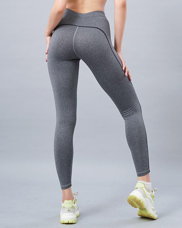 Quần legging tập yoga nữ lưng bản ICADO QD32