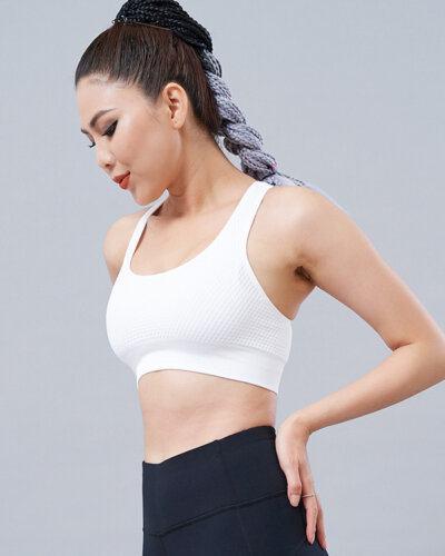 Set gym nữ 15: Áo bra CH11 & quần legging QD30