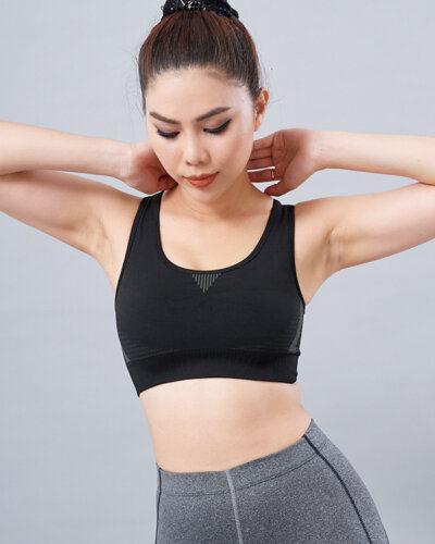 Set gym nữ 19: Áo bra HN28 & quần legging QD32