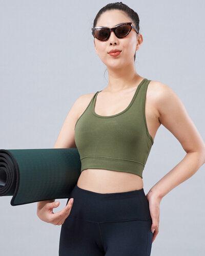 Set thể thao 13: Áo bra QL4 & quần legging QD30