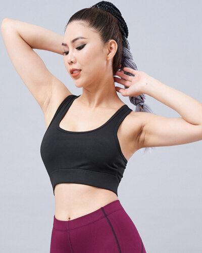 Set yoga nữ 17: Áo bra QL5 & quần legging QD32