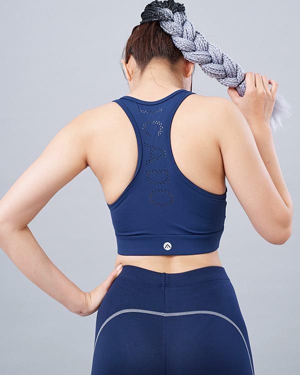 Set yoga nữ 19: Áo bra QL5 & quần legging QD32