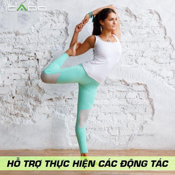 Quần legging sẽ giúp bạn không còn phải lo lắng về việc tét hoặc rách đáy quần như những loại quần khác.